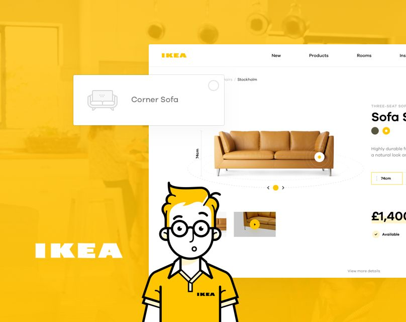 Consultez ce projet @Behance: \u201cShopping made personal - IKEA online experience concept\u201d https://www.behance.net/gallery/52433389/Shopping-made-personal-IKEA-online-experience-concept