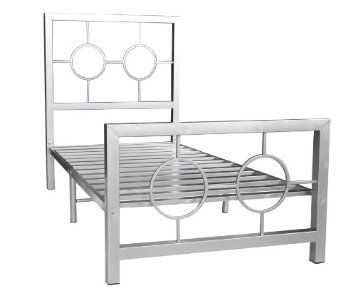 Amazon Com Home Source Industries 13161 Twin Metal Bed Frame With