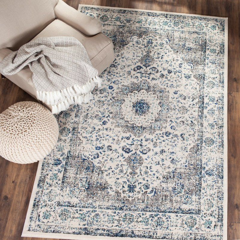 Aleyna Gray Ivory Area Rug In 2019 Rugs Shabby Chic