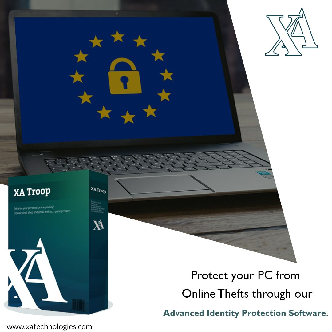 Protect your PC from Online theft through our advanced identity protection software.  Once this identity protection software gets installed, this best privacy protection tool helps you to protect, identity traces such as passwords, email ids, log in details, and credit card information. . . #xatroop #software #data #safety #security #protection #privacy #digitaltheft #digitalidentity #privacyprotection #logincredentials #bankaccount #datasecurity #securitysoftware #downloads #malware