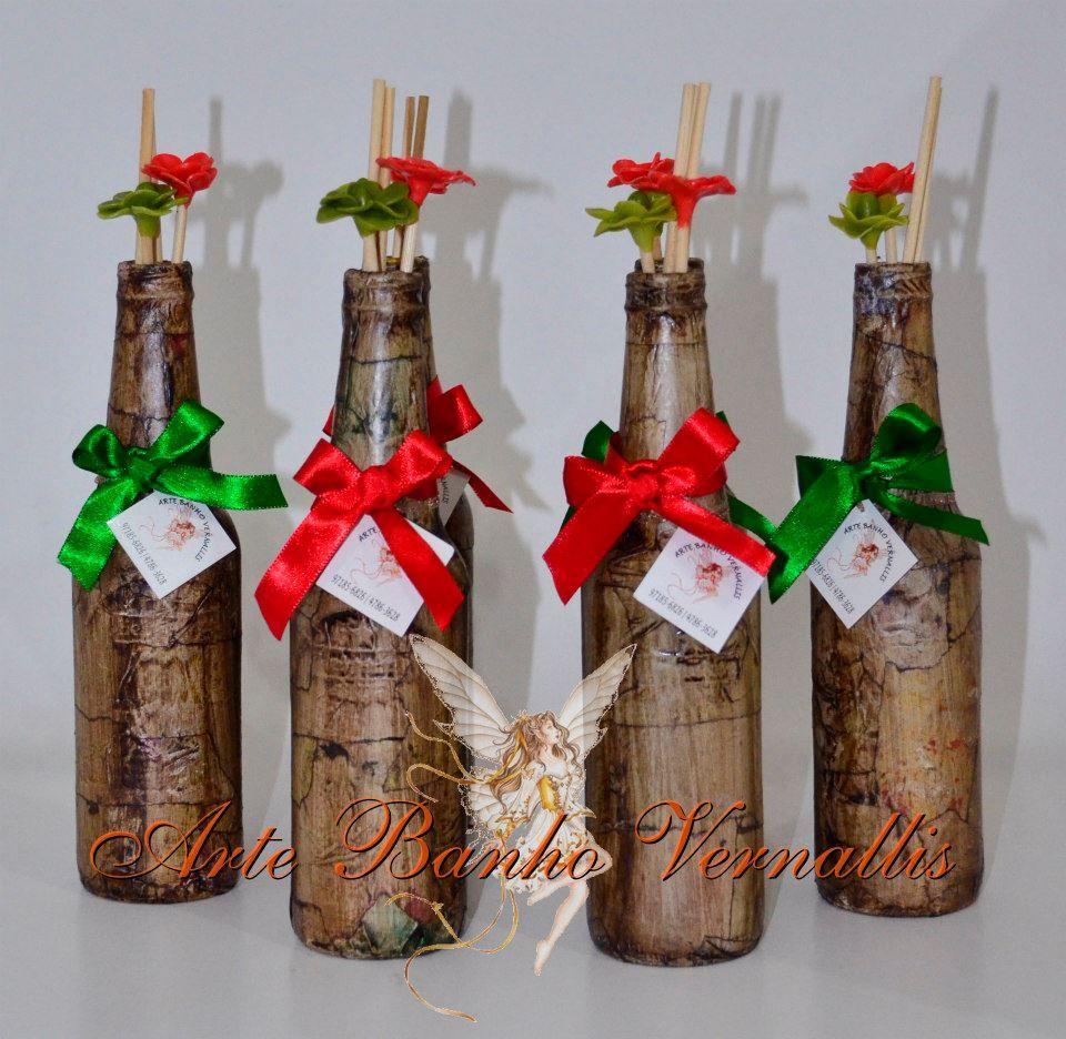garrafas Decoradas Google Search Garrafas decoradas Garrafas de vidro, Garrafas e Garrafas  # Decorar Garrafa De Vidro Para Natal