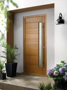 Wickes Stockholm External Oak Veneer Glazed Door 2032 x 813mm | Wickes.co.uk : wickes doors - pezcame.com