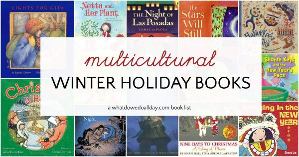 Multicultural Winter Holiday Picture Books in 2020