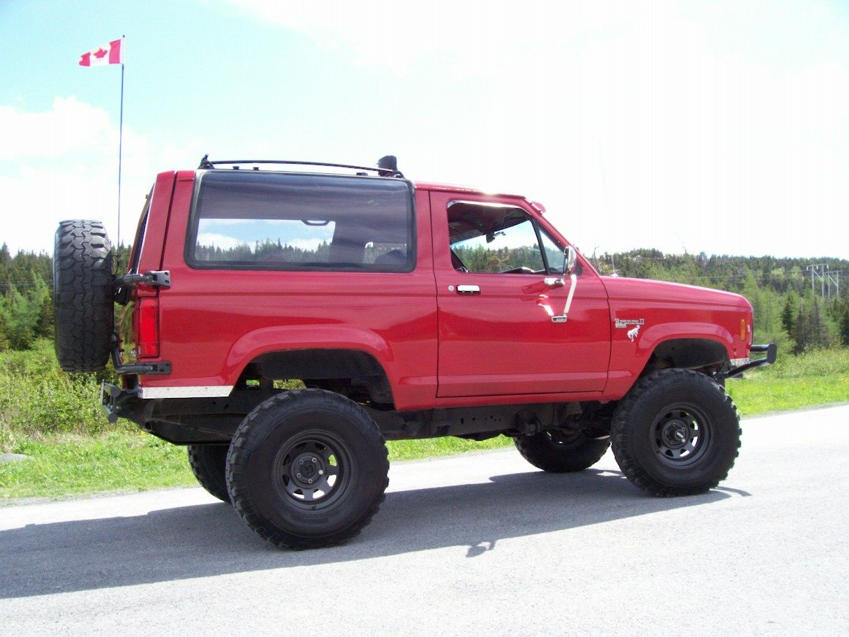 1986 Ford Bronco Ii Pictures Ford Bronco Ii Bronco Ii Ford Bronco