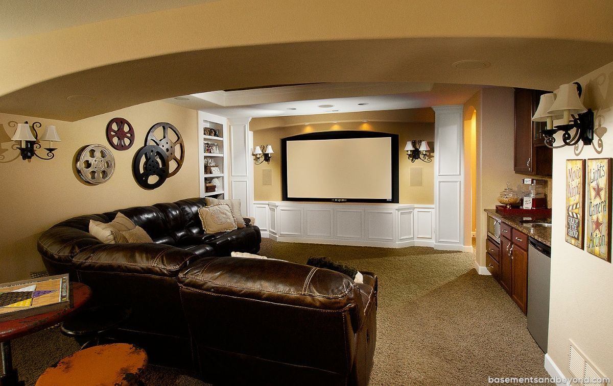 Basement Home Theater Ideas Diy Small Spaces Budget Medium Wiring Finished Family Room On A Tags Unfinished