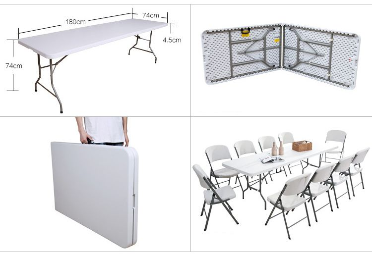 180cm Folding Table For Trade Show Welcome To Contact Mike Mike Clexhibit Com Or 86 158 0060 8292 Whatsapp Foldingtable Tr Folding Table Table Furniture