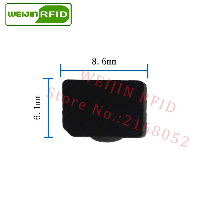 Access Control Access Control Cards Uhf Rfid Metal Tag 915m 868m Alien Higgs3 Epcc1g2 6c Casting Fixture Tool 28*28*4mm Square Ceramics Smart Card Passive Rfid Tags