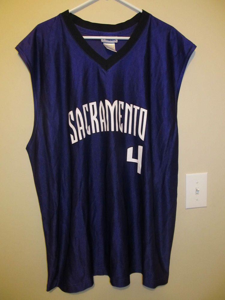 new product ca6ad aee47 Chris Webber - Sacramento Kings jersey - NBA Adult 2XL #NBA ...