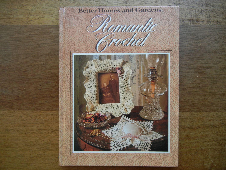 Better Homes and Gardens Romantic Crochet | Romantic, Cover pillow ...