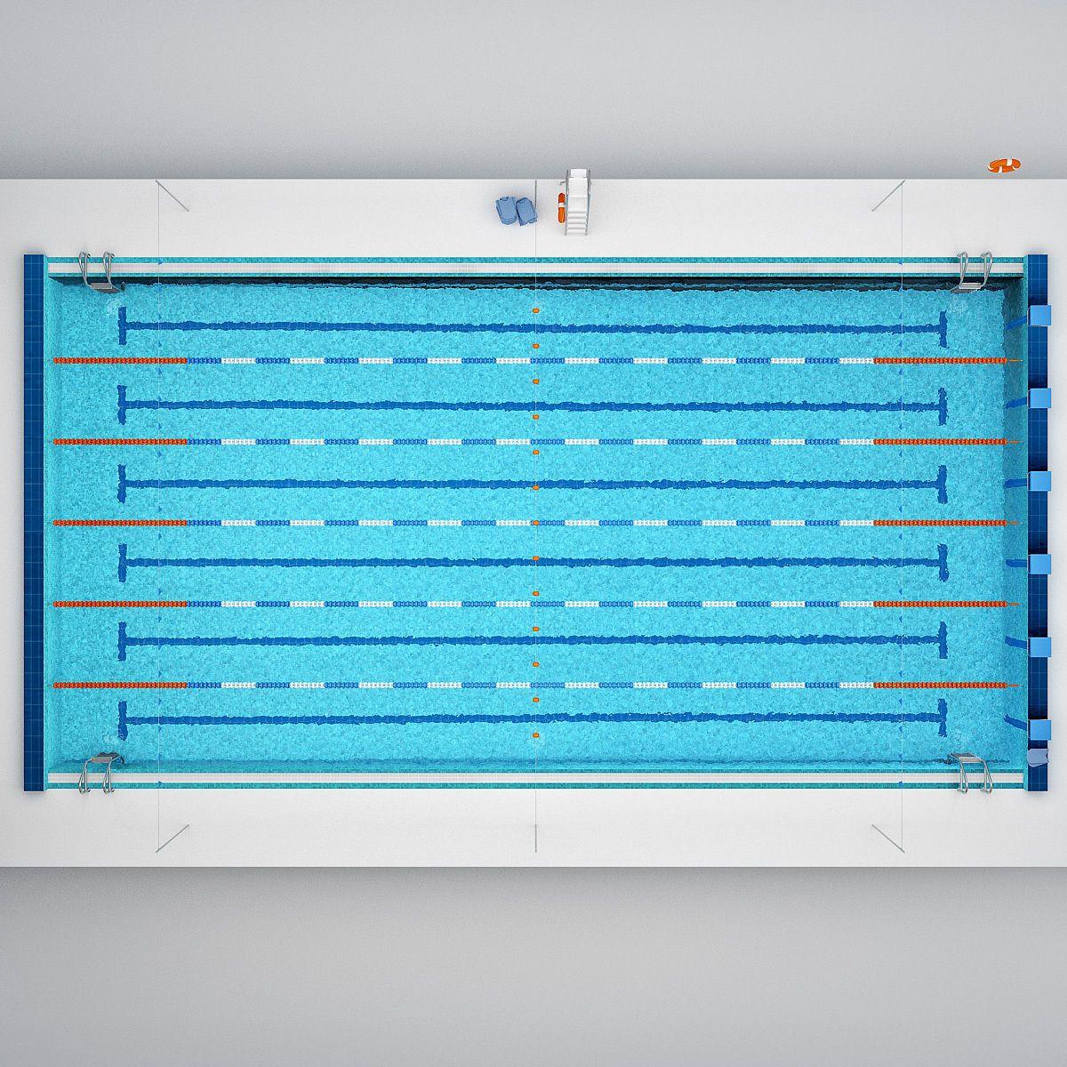 Swimming Pool 3d Model Swimming Pools Swimming Pool Ladders Swimming Pool Dimensions