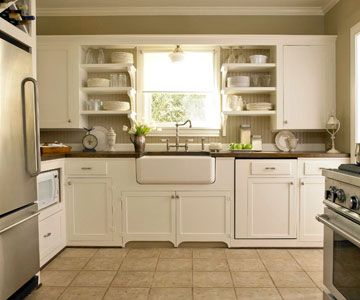 1000+ images about Kitchens 2 on Pinterest | Open kitchen shelving ...