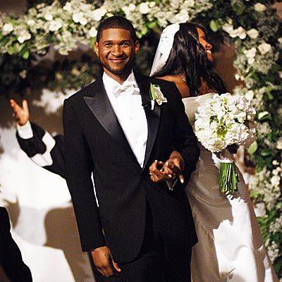 Usher Wedding Dresses