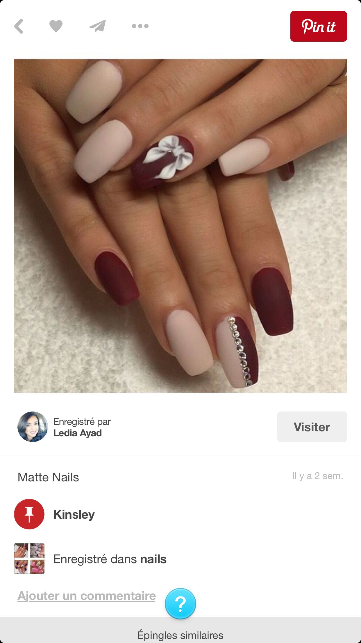 Pin by Andrea Kelly on Nails | Pinterest | Manicure, Nail shop and ...
