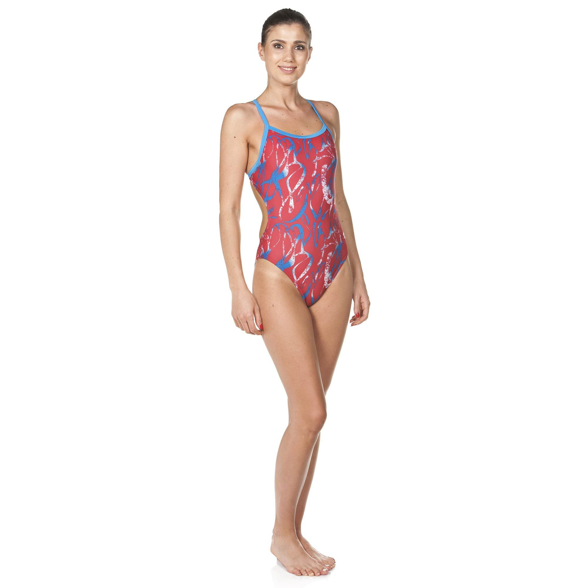 c8ee5a68cd3 Women's Blaze One Piece Swimsuit (Lining) | arena Training Swimsuits ...