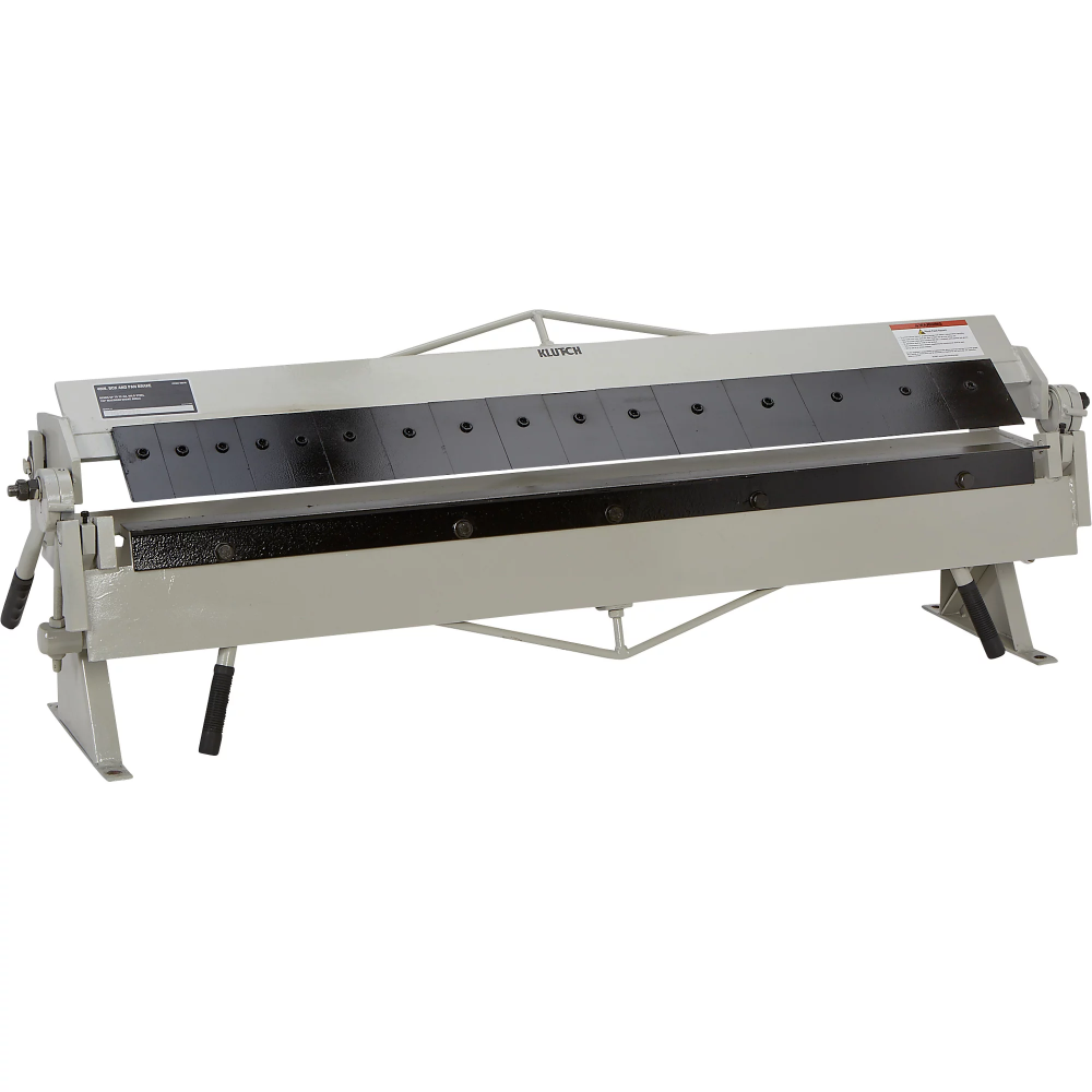 Klutch Box And Pan Brake 48 1 4in In 2020 Sheet Metal Fabrication Metal Cabinet Metal Bending Tools