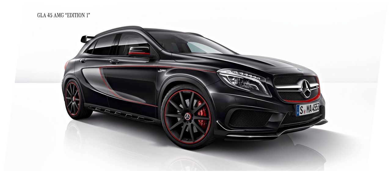 Mercedes Gla 45 Amg Edition 1 With Images Mercedes Benz Gla