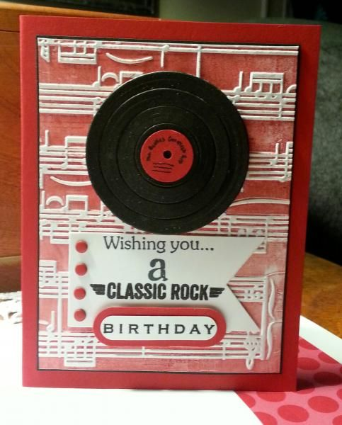 Music+birthday - Homemade Cards, Rubber Stamp Art, & Paper Crafts - Splitcoaststampers.com