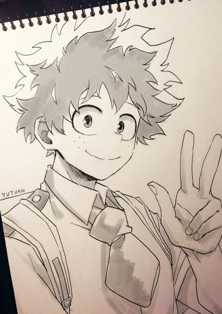 Pin By Scribbles On My Hero Academia Anime Sketch Anime Drawings Sketches Anime