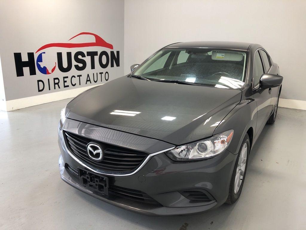 Name 2017 Mazda Mazda6 SportCARFAX OneOwner Stock
