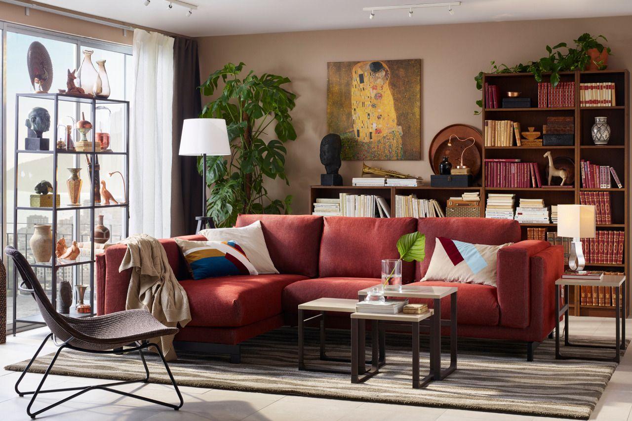 Ikea Everyday Salotti Minimalisti Design Per Il Soggiorno Divani Da Soggiorno [ 853 x 1280 Pixel ]