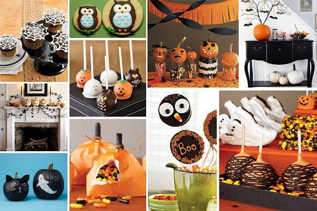 ... ♥ Designs by Nina: Halloween Sweet table inspiration / Inspiración Mesa Dulce Halloween