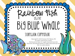 Home sweet speech room rainbow fish and the big blue for Rainbow fish and the big blue whale