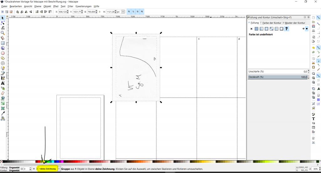 inkscape schnittmuster digitalisieren2   DIY: Tutorials, Freebys ...