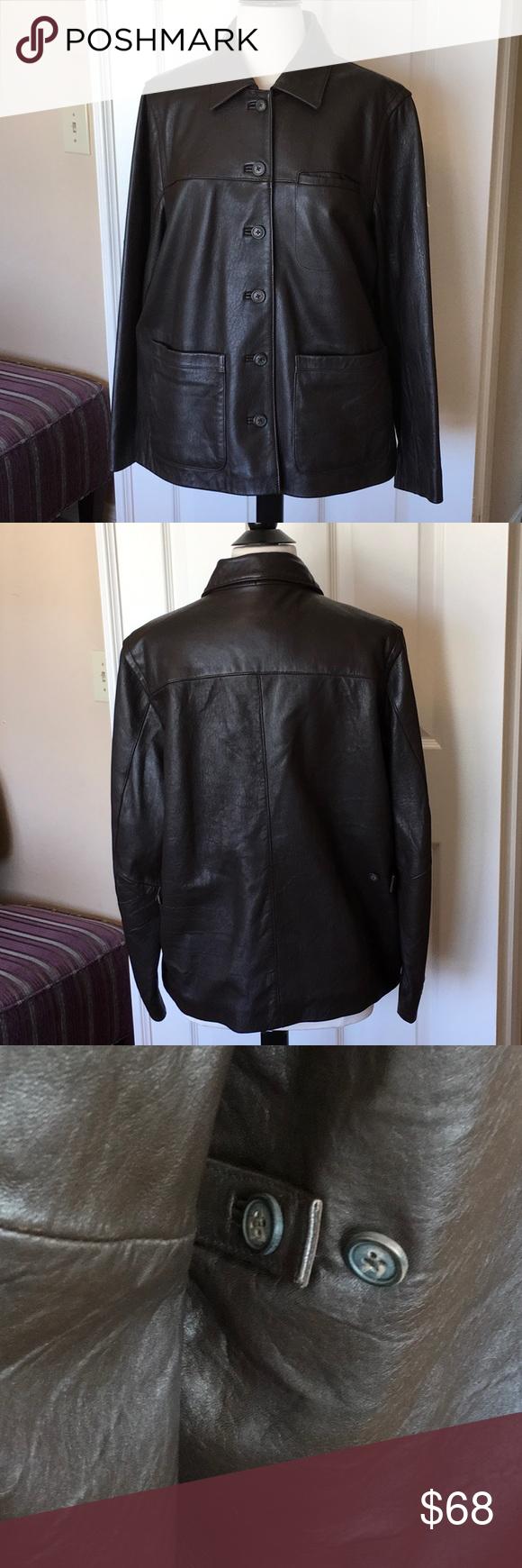 Chocolate Brown Genuine Leather Jacket Genuine Leather Jackets Brown Leather Jacket Leather Jacket [ 1740 x 580 Pixel ]