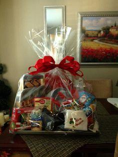 Baking gift basket