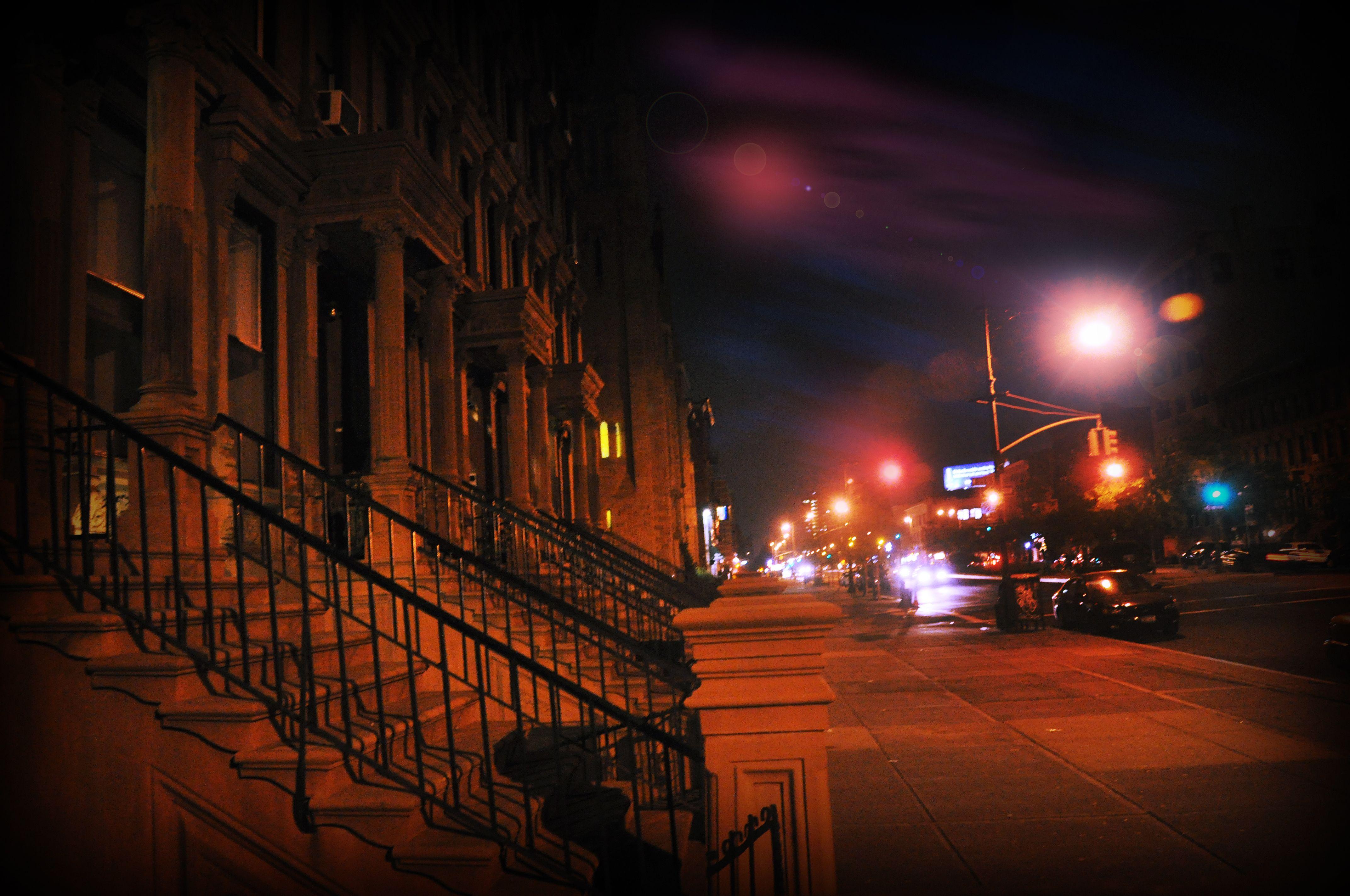 Modern day Harlem at Night   Lighting design, Modern, Harlem