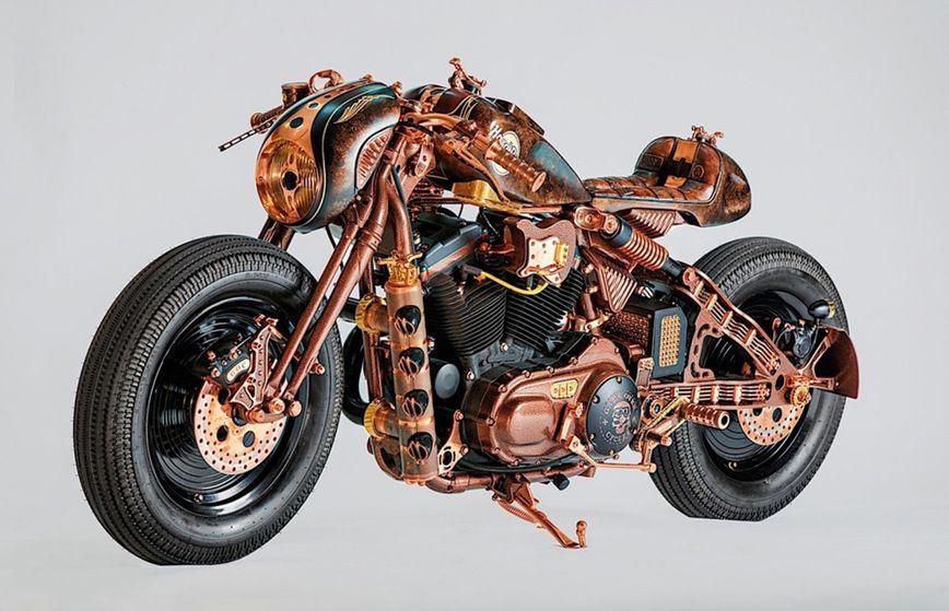 Harley Davidson Sportster 883 With Steampunk Elements Harleydavidsoncustom Classic Harley Davidson Harley Davidson Motorcycles Harley Davidson Bikes