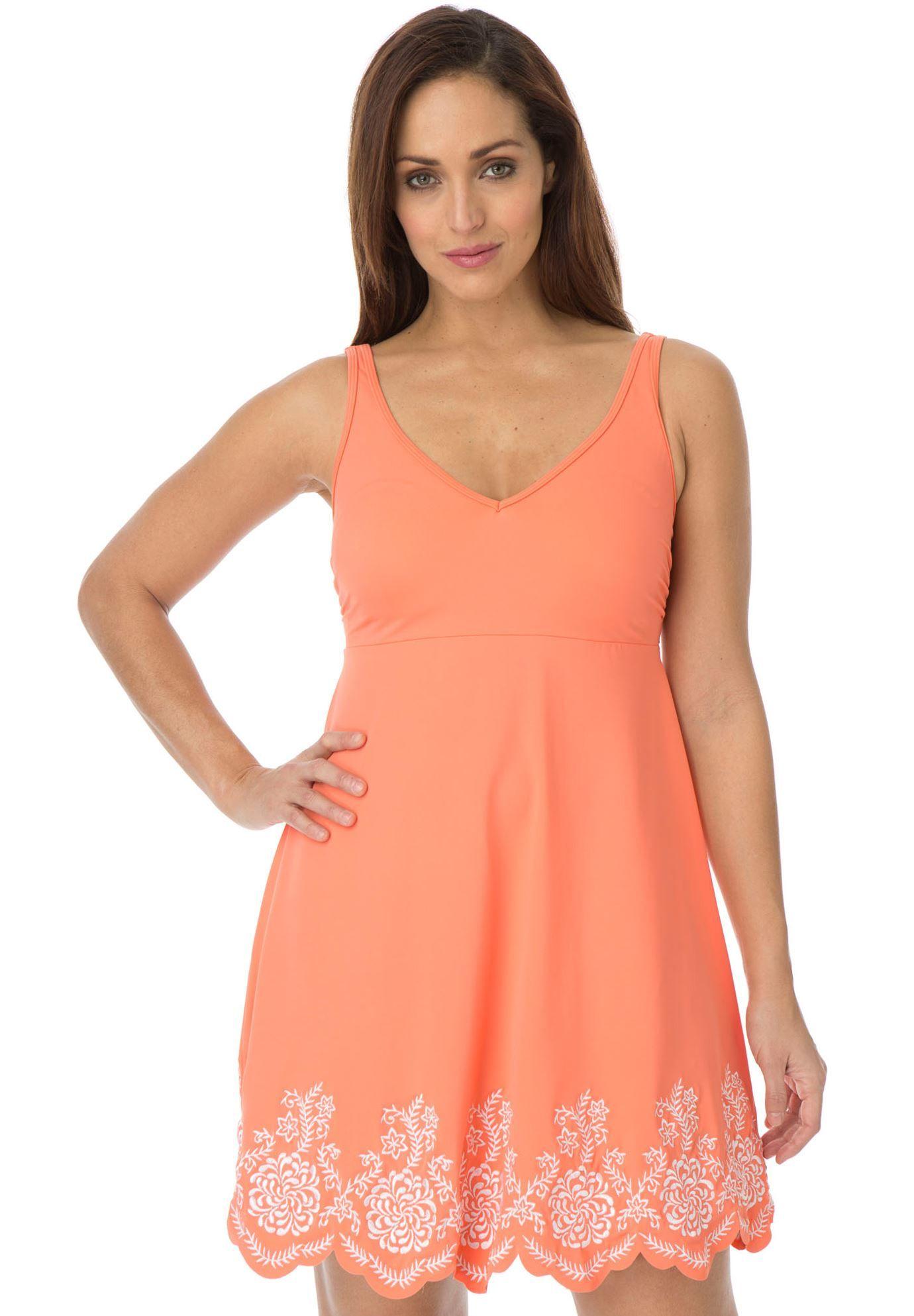 050194708ca New Arrivals Plus Size Modest Conservative Swimsuit One Piece Swimdress  3XL-6XL http:/