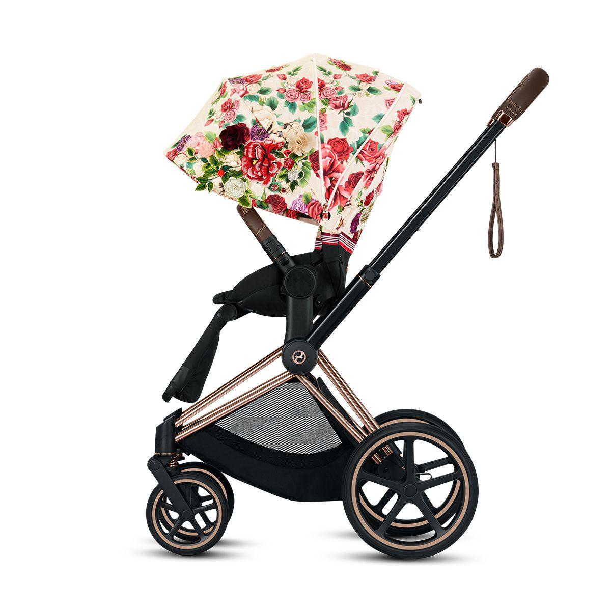 Cybex Platinum Priam Stroller Light Spring Blossom in