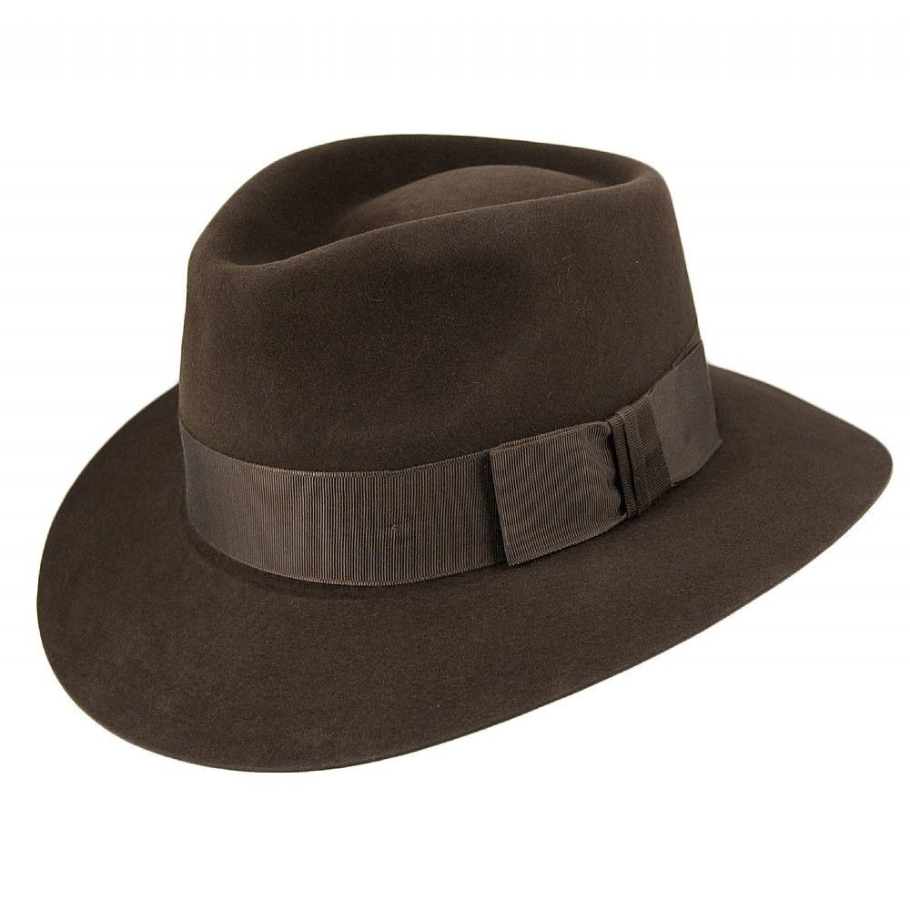 8a2799fef Christys Hats Fur Felt Iconoclast Fedora - Brown in Clothes, Shoes ...