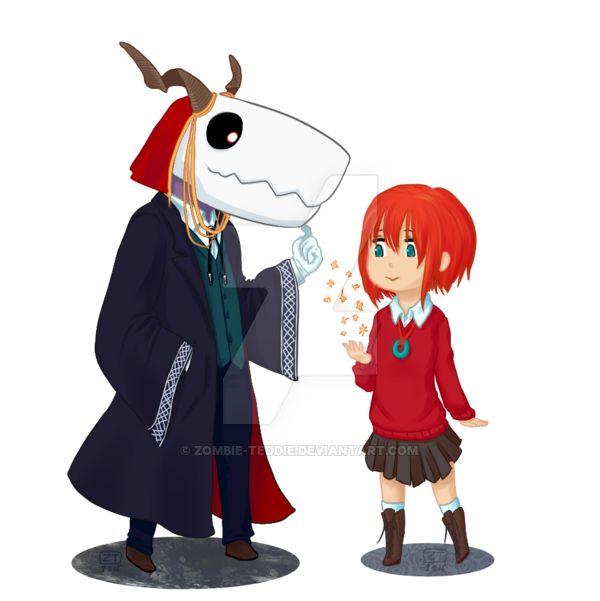 Elias Ainsworth et Chise Hatori - Mahou Tsukai no Yome