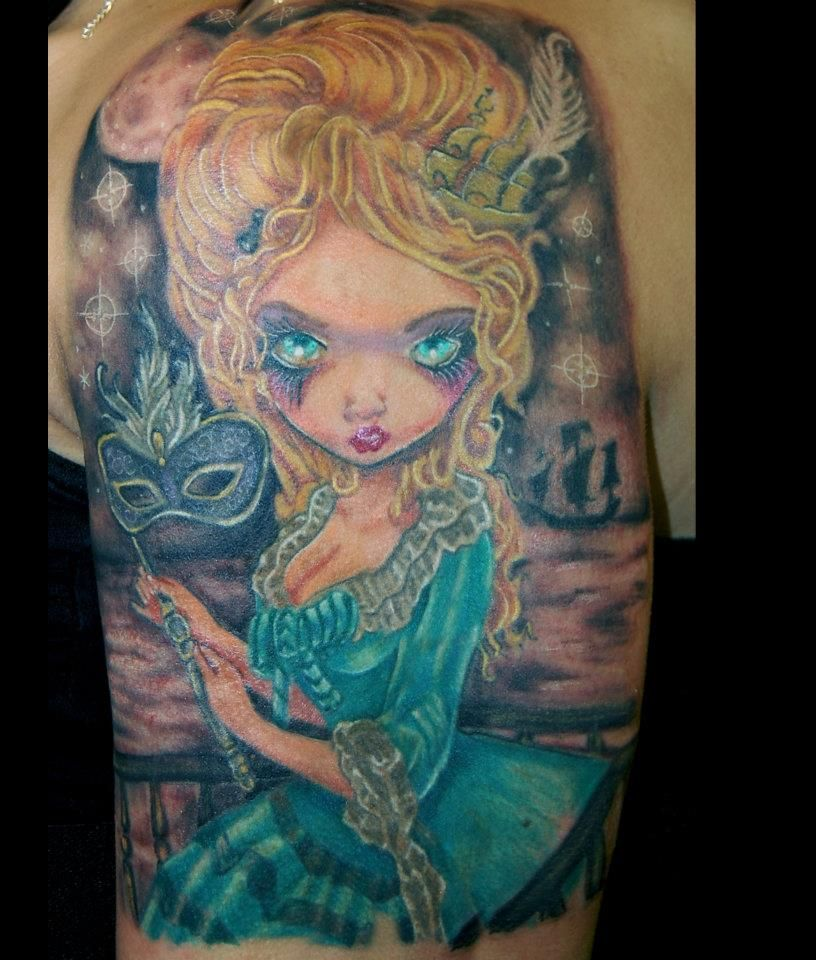 Ink Masters Tattoo Gallery James Danger Harvey INK