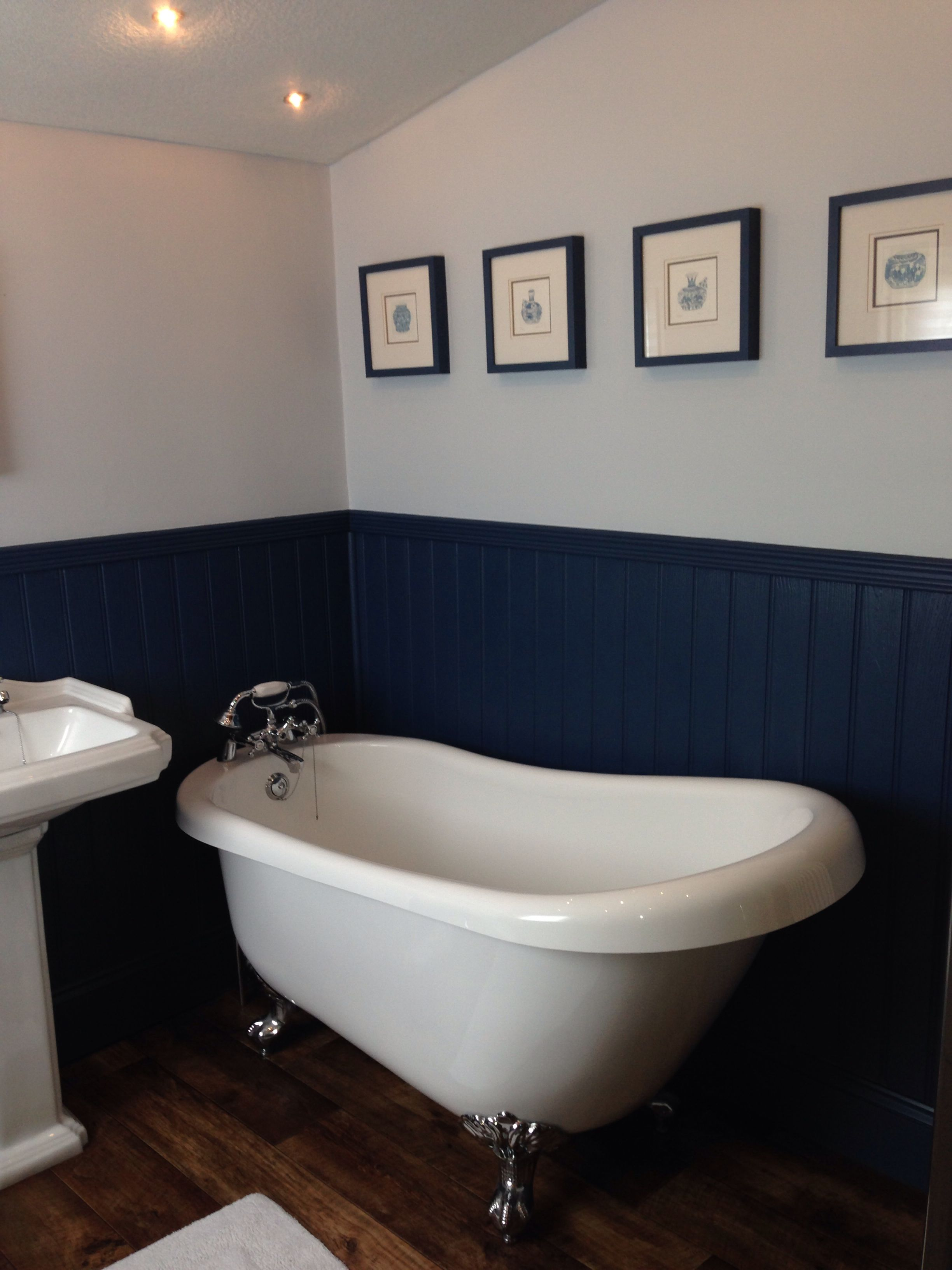 Little Greene S Hicks Blue Woodwork And Tongue And Groove