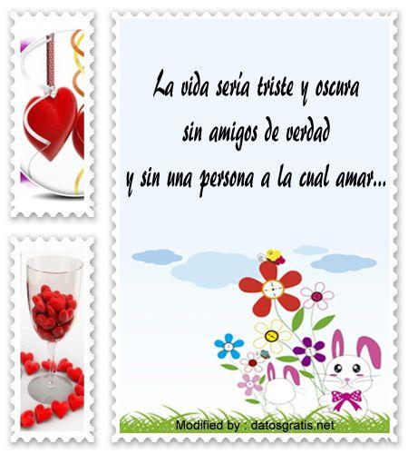 Versos Para El Dia Del Amor Y La Amistad Postales Con Frases
