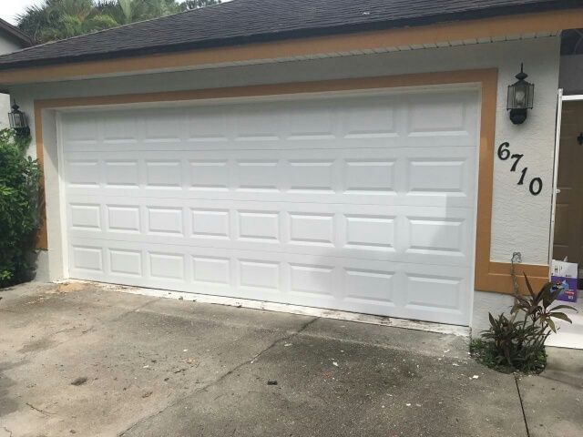 Is Your Garage Door Dented Damaged Looking Worn Out Call 239 768