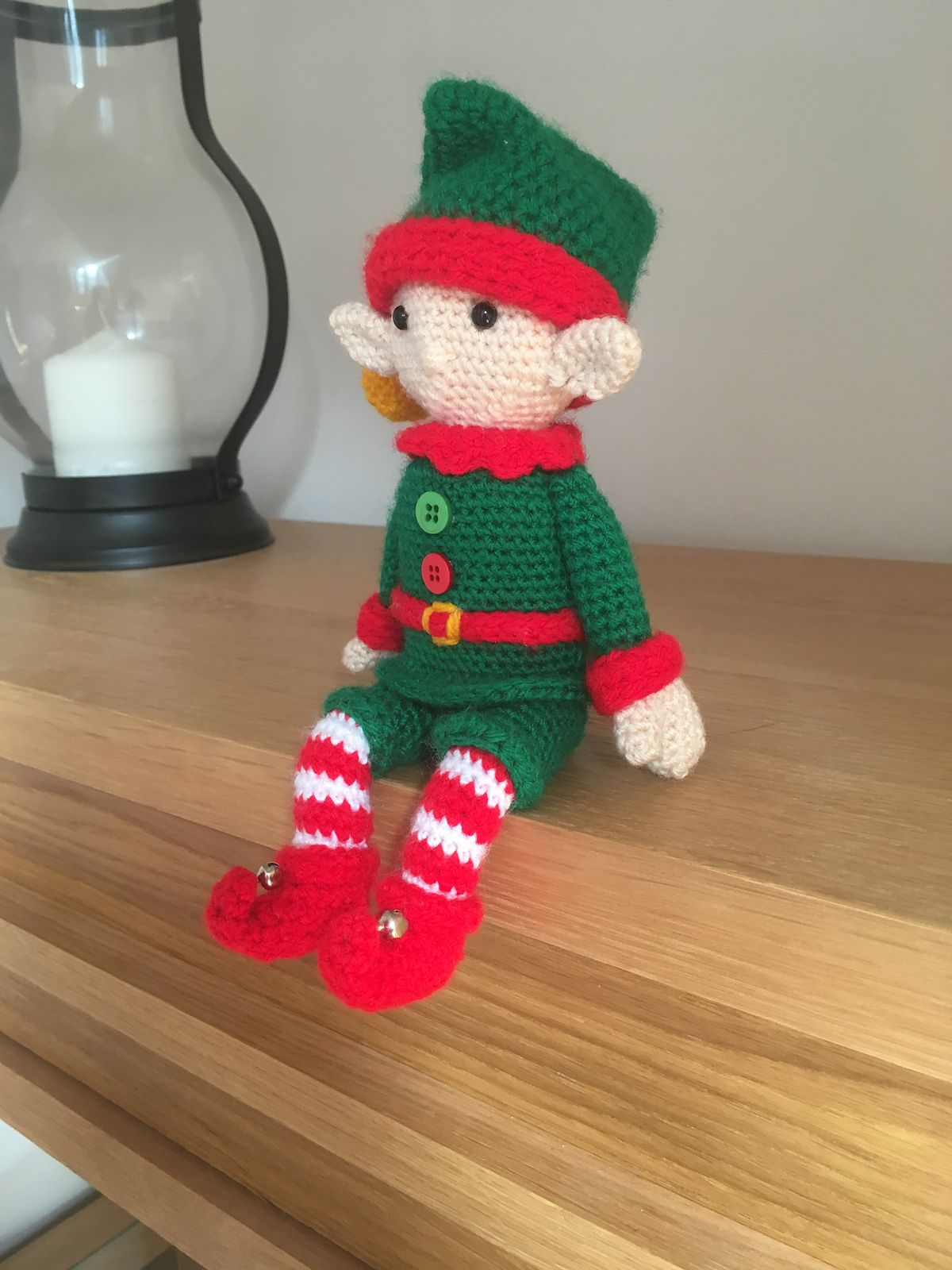 Free amigurumi pattern - Little Christmas elf | lilleliis | 1600x1200