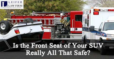 Is The Front Seat Of Your Suv Really All That Safe Car Accident