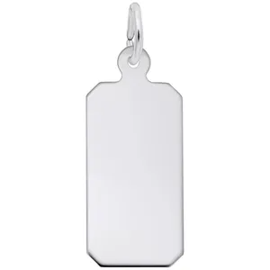 Black Plated And Stainless Steel Double Dog Tag Fashion Necklace In 2021 Rembrandt Charms Black Plates Dog Tag Charm