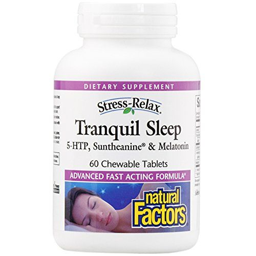 Price Tracking For Natural Factors Stress Relax Tranquil Sleep 5 Htp Suntheanine Melatonin 60 Chewable Tablets 2831 Price History Chart And Drop Alert Natural Sleep How To Relieve Stress Stress