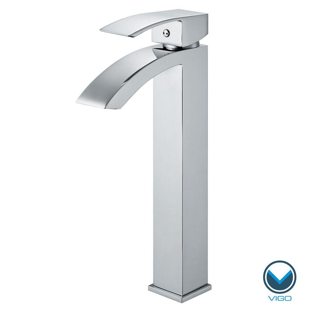 VIGO Chrome Finish Bathroom Vessel Faucet | Overstock.com Shopping ...