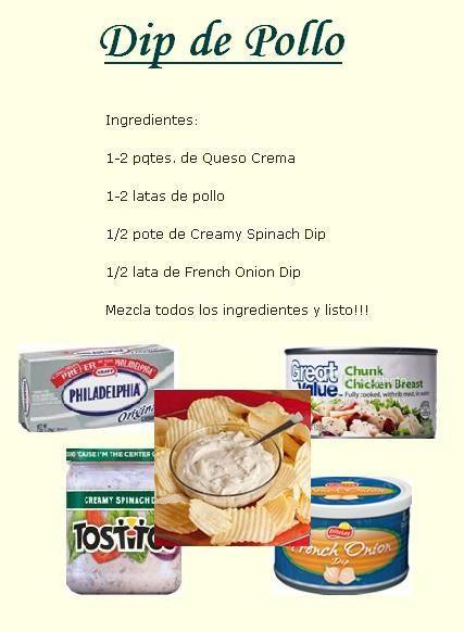 Dip De Pollo Antipasto Recipes Boricua Recipes Yummy Appetizers