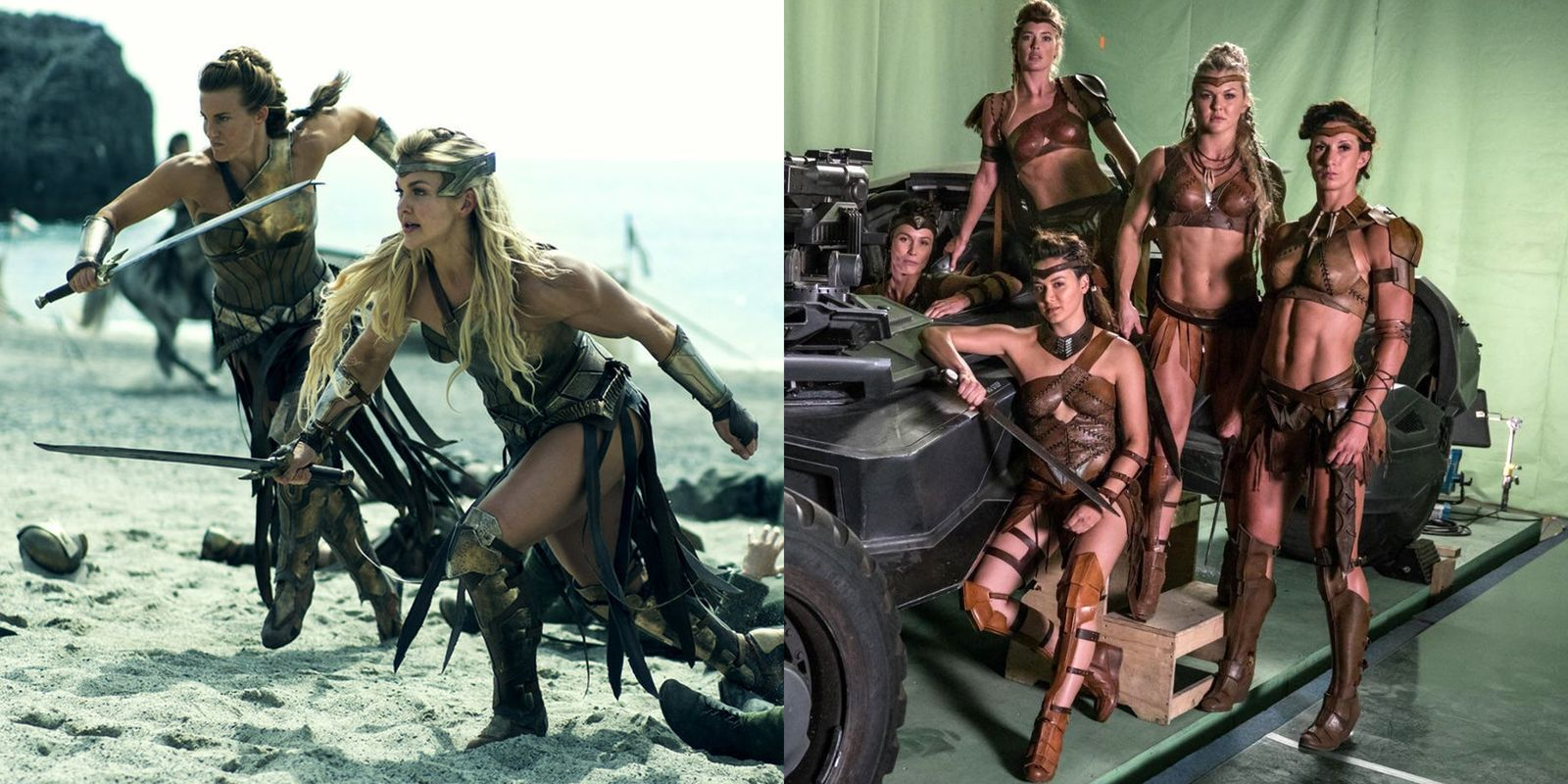 The Amazons Are Wearing Bikinis in 'Justice League' and People Are Furious