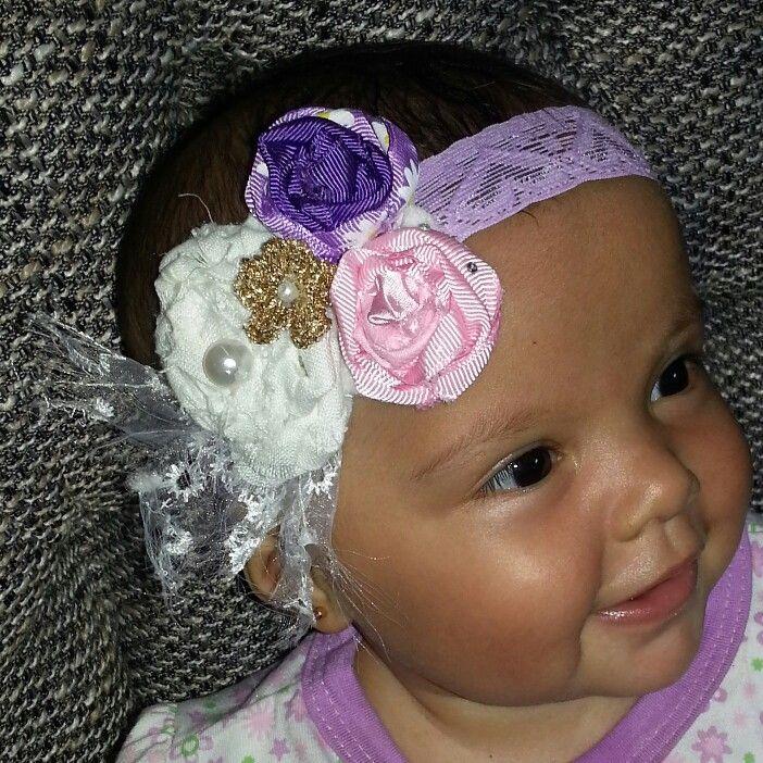 tocados cintillos para bebs instagram jackytejidos Pinterest