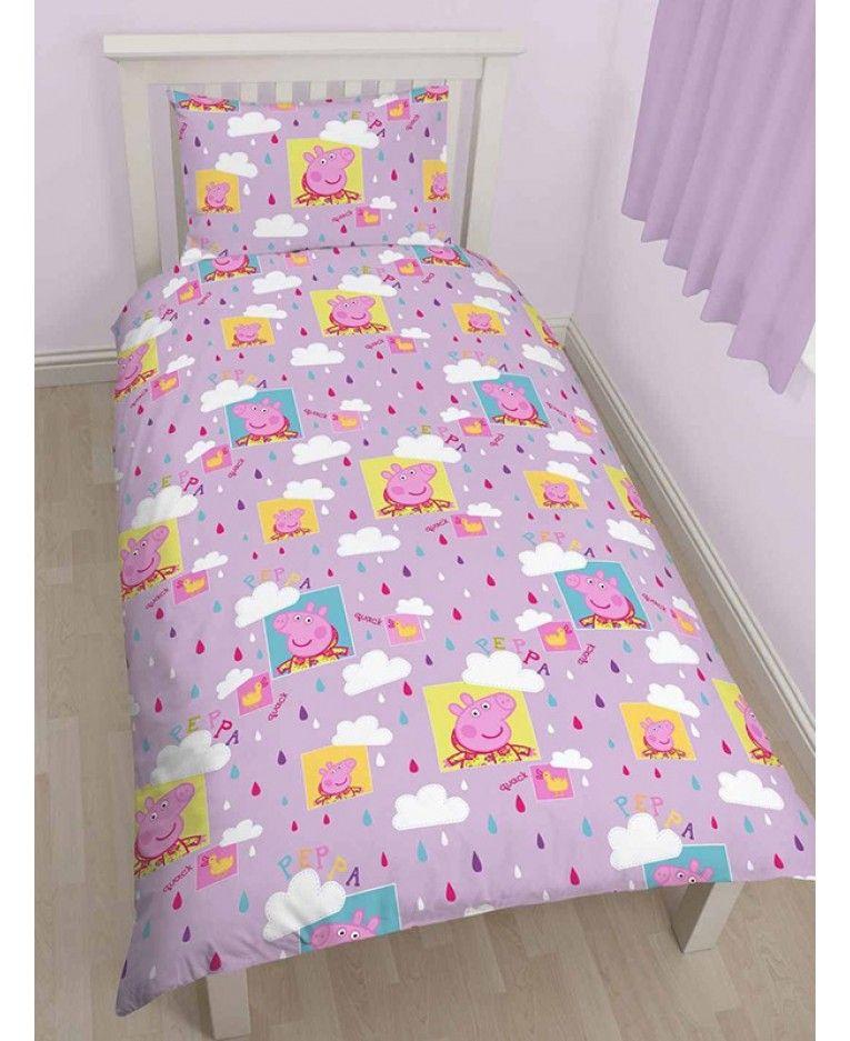 Peppa Pig Dinosaur Bedding Peppa