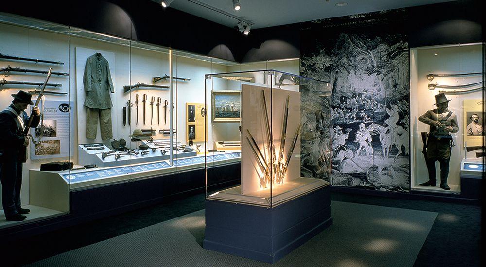 National Civil War Museum Exhibits - Strada - a cross-disciplinary design firm
