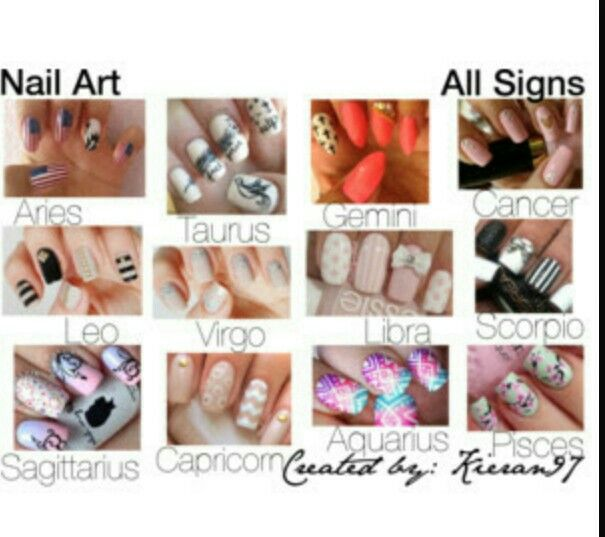 Nail art for the signss